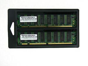 512mb-2x256mb-Speicher-32x64-168-Polig-Pc100-8ns-3-3v-Non-Ecc-Sdram-Dimm