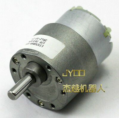 1pcs 12V DC 70 RPM High Torque Gear Box Electric Motor DC Geared Motor