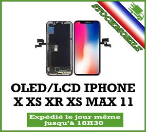 ECRAN-LCD-OLED-iPhone-X-XS-XR-XS-MAX-XSMAX-11-VERRE-TREMPE-OFFERT