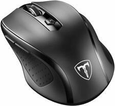 VicTsing MM057 2.5G Wireless Mouse - Black