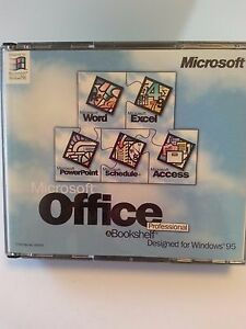 Image Is Loading Microsoft Office Pro Amp Bookshelf Windows 95 Install