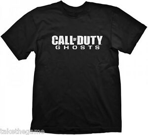 Official-Licensed-CALL-OF-DUTY-GHOSTS-LOGO-T-SHIRT-BLACK-BNIP
