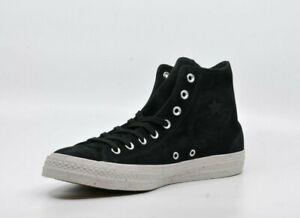 Converse Chuck verres Hi Sneaker Cuir Noir 44 44,5 Chaussures De Sport Hommes