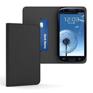 Tasche-fuer-Samsung-Galaxy-S3-Neo-Cover-Handy-Schutz-Huelle-Case-Etui-Schwarz