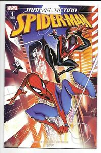 Marvel-IDW-MARVEL-ACTION-SPIDER-MAN-1-first-printing