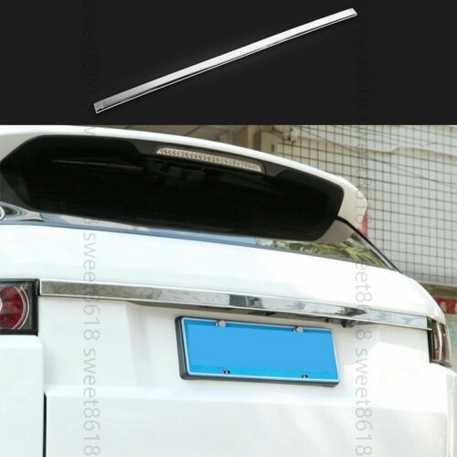 Chrome Rear Trunk Door Tailgate Strip Trim For Land Rover Range Rover Evoque 12+
