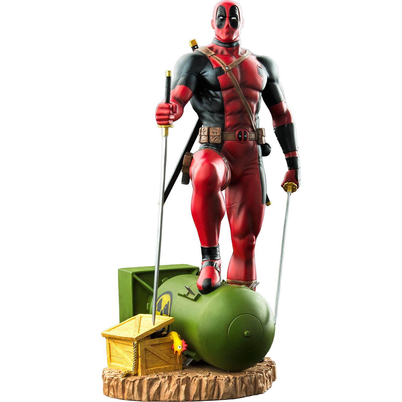 Deadpool - Deadpool on Atom Bomb 1/6th Scale Statue