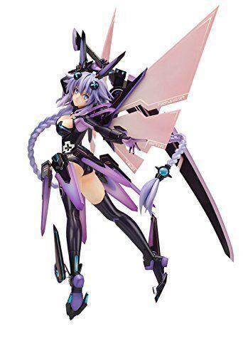 Alterar Dimensión Súper Gem Neptuno corazón púrpura 1 7 PVC figure NEW F S