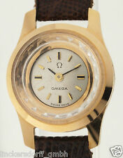 OMEGA BACKWINDER IN ROTGOLD - DAMENUHR - 1940er JAHRE