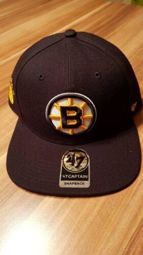 Eishockey '47 Brand NHL Eishockey Cap Snapback ***Boston Bruins***  ☆ NEU & OVP ☆ Weitere Wintersportarten