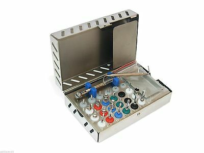Dental Surgical Instruments - Full Surgical Kit for Implant - Sterilization Box
