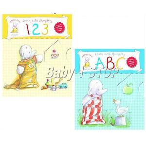2-Humphrey-039-s-Corner-Board-Books-Learn-with-Humphrey-ABC-Book-amp-123-Book-Learn