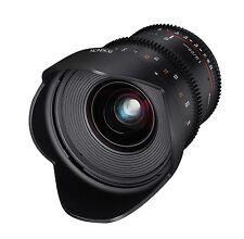 Rokinon 20mm T1.9 Cine DS AS ED UMC Wide Angle Cine Lens for Sony E-Mount FE