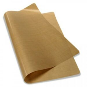 "Teflon Cover Sheet 12""X14"" 5 mils Transfer Paper Iron-On and Heat Press PTFE"