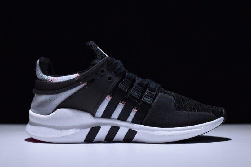 Adidas gli originali eqt sostegno materiale nero grigio avanzati taglia 12 s