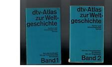 dtv Atlas zur Weltgeschichte - 2 Bände - 1979
