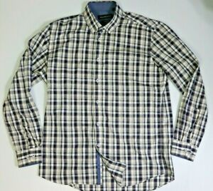 Bell & Barnett Men's Long Sleeve Check Shirt Size XL