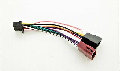 Autoradio ISO Adapter Kabel für ALPINE CDE-190R CDE-192R CDE-173BT CDE-178BT