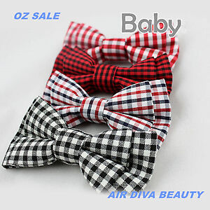 1P-Baby-Boys-Kids-Children-Party-School-Cute-Wedding-bow-tie-Necktie-bowtie-Pin