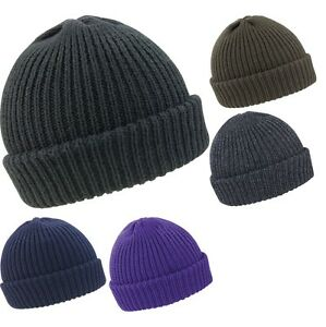 79af18b3562 Mens Result Winter Warm Whistler Chunky Knit Slouch Slouchy Beanie ...