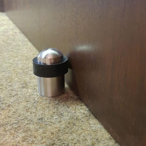 Stopper Wandschutz Türstopper Wandtürstopper Schutz Elegant Gummi Edelstahl