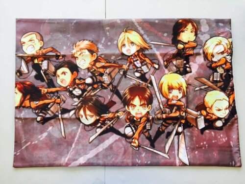 Shingeki no Kyojin Anime Attack on Titan 104th Squad Dakimakura Pillow Case