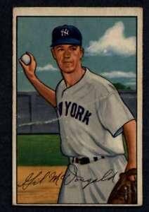 1952-Bowman-33-Gil-McDougald-GVG-RC-Rookie-Yankees-A2870