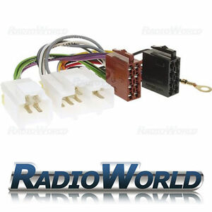 Car-Stereo-Radio-ISO-Adaptor-Loom-Wiring-Lead-Harness-Connector-Cable-FOR-Nissan