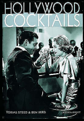 """AS NEW"" Reed, Ben,Tobias Steed, Hollywood Cocktails, Book"