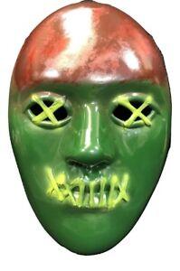 Statue Of Liberty Mask Green Latex Costume