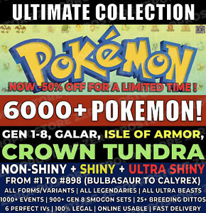 Pokemon-Home-6000-Pokemons-Sword-amp-Shield-CROWN-TUNDRA-GEN-1-8-FULL-POKEDEX