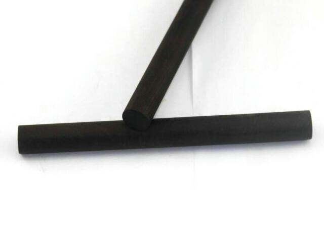 "20*300mm 2Pcs Ebony Lumber 3//4/"" x 12/"" Eog Stick Black DIY"