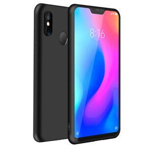metà fuori 70885 1ebe5 Detalles de SDTEK Xiaomi Mi A2 Lite Custodia Cover Silicone Gel Matte (Nero)
