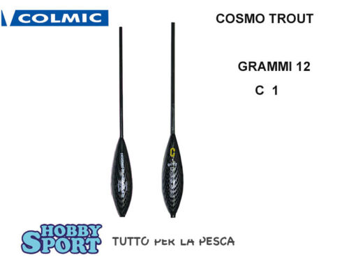 Bombard Cosmo Trout colmic gr 12 aff 1 GR Fishing Trot Lake