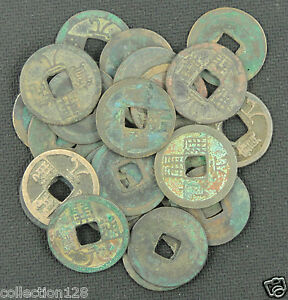 CHINA Ancient Coins Tang Dynasty 10 Pieces