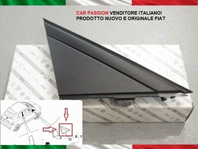 MODANATURA LATO SINISTRO MOSTRINA LATERALE FIAT 500 CINQUECENTO ABARTH 735455793