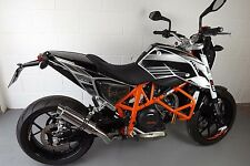 KTM 690 Duke 12-15 SP Engineering Stubby Moto GP Escape De Acero Pulido