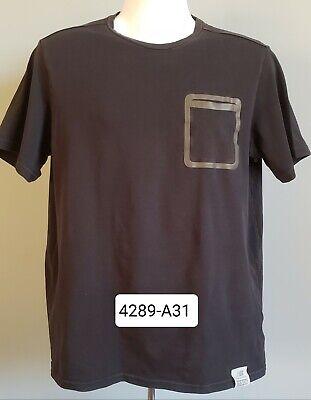 Rebajar Piquete Desnatar  Mens New Balance Short Sleeve T Shirt Size L Black Color est 1906 | eBay