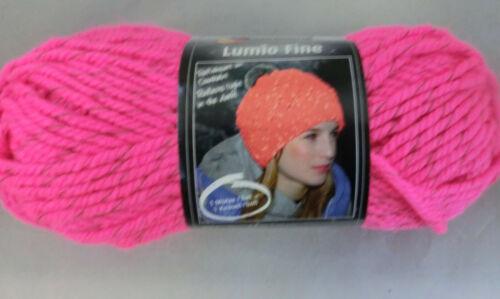 100 g Schachenmayr LUMIO FINE reflektiert in Dunkelheit  Fb 135 pink # 4193
