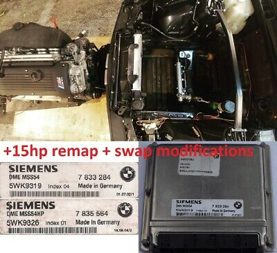 BMW e46 M3 +15Hp MAF based remap for MSS54/MSS54HP used in swap   eBay