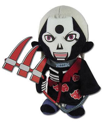 """NEW Great Eastern (GE-8973) Naruto Shippuden 10"""" Grim Reaper Hidan Stuffed Plush"""