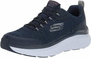 Skechers-Men-039-s-D-039-lux-Walker-Pensive-Oxford-Navy-Size-10-0-FmXP