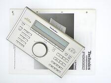 TECHNICS EUR66662 Original SA-E10 SL-E10 RS-E10 Fernbedienung/Remote + BDA 4383G