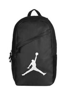 f92e88c91f31 NEW NIKE AIR JORDAN JUMPMAN LOGO GYM BACKPACK LAPTOP BOOK BAG SILVER ...