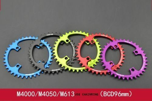 FOURIERS MTB Bicycle Chainring Circle BCD96mm 32T 38T 40T Narrow Wide 1xSystem