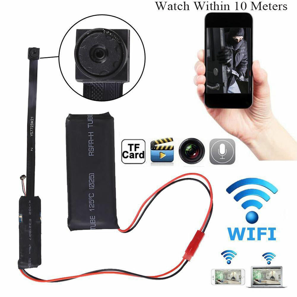 Wifi Wireless Spy Security Camera Camcorder Baby Monitor Video Recorder Webcam