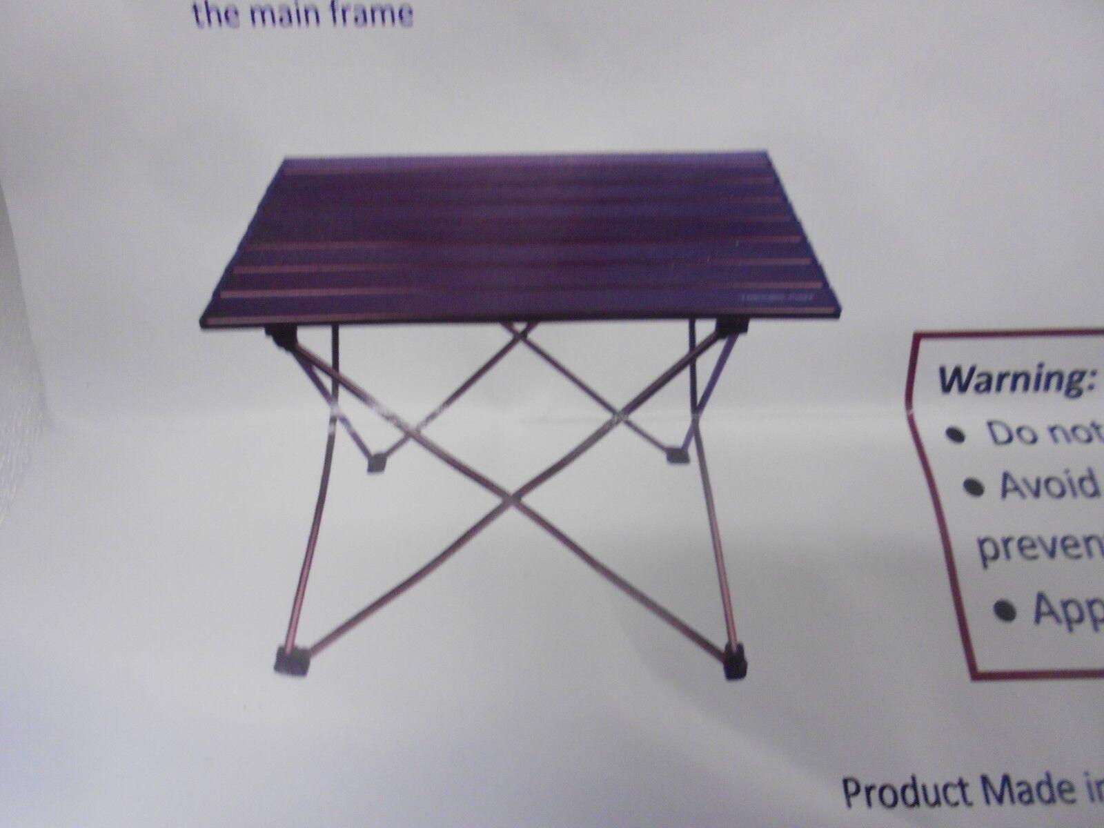 Trek Logy Aluminium Table Campingtisch ca. 40 x 34 cm (2938)