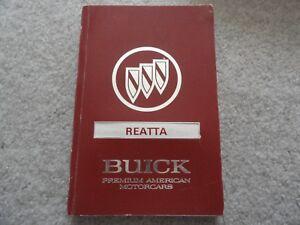 1991-Buick-Reatta-Owners-Manual