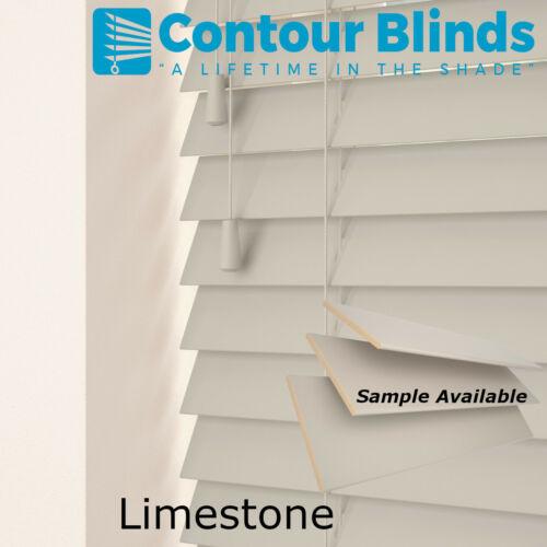 35 /& 50mm SLAT SIZES WOOD WOODEN VENETIAN REAL WOOD BLINDS CHILD SAFE BLIND