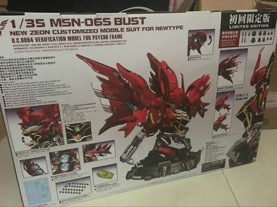 Yihui Sinanju 1//35 Scale MSN-06S Bust Model Kit Suit For Newtype